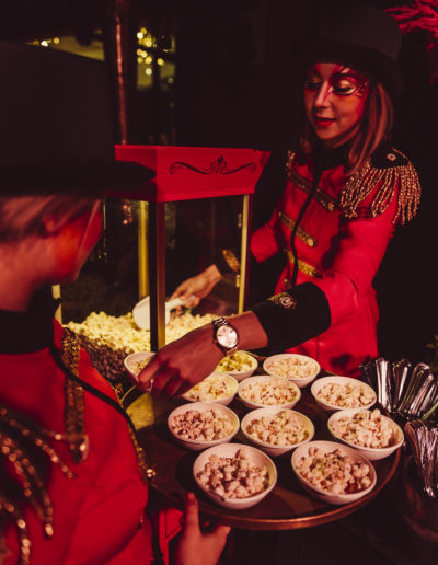 Popcorn catering